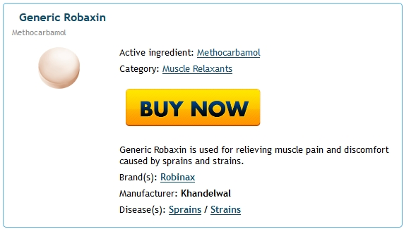 Buy Robaxin Brand Pills Cheap