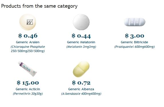 Medicamentos Baratos - Comprar Chloroquine en linea desde $15