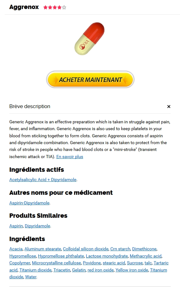 Aspirin and Dipyridamole Pharmacie France