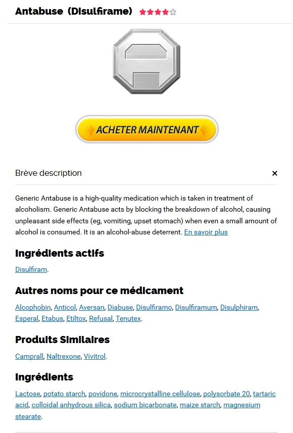 Antabuse Pharmacie En Ligne Canada Sans Prescription