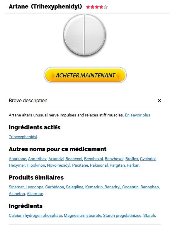 Acheter Médicament Artane Pas Cher | Expédition trackable