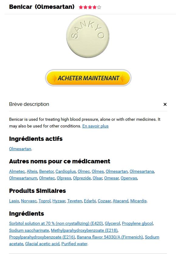 Acheter Benicar en pharmacie - Pharmacie Palaiseau