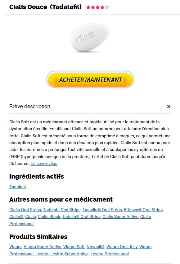 Cialis Soft pharmacie France