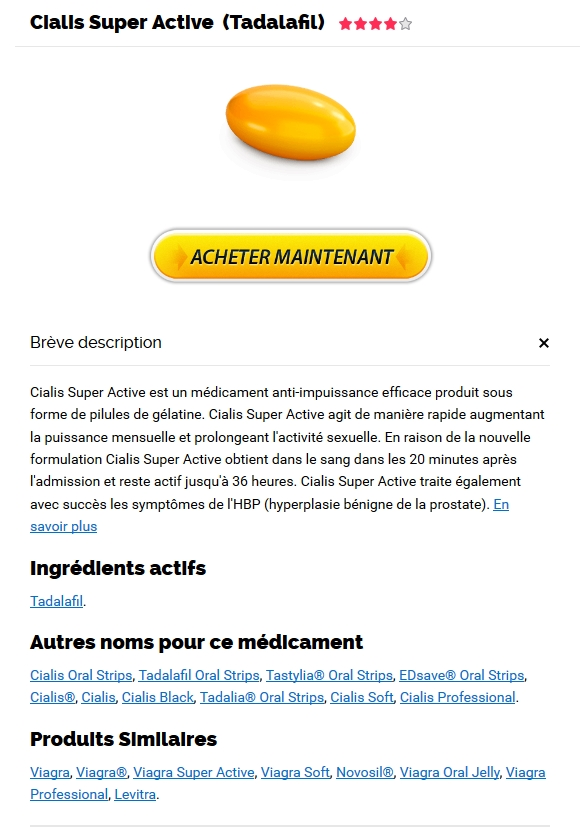 Commander Cialis Super Active 20 mg. commande de Cialis Super Active pas cher