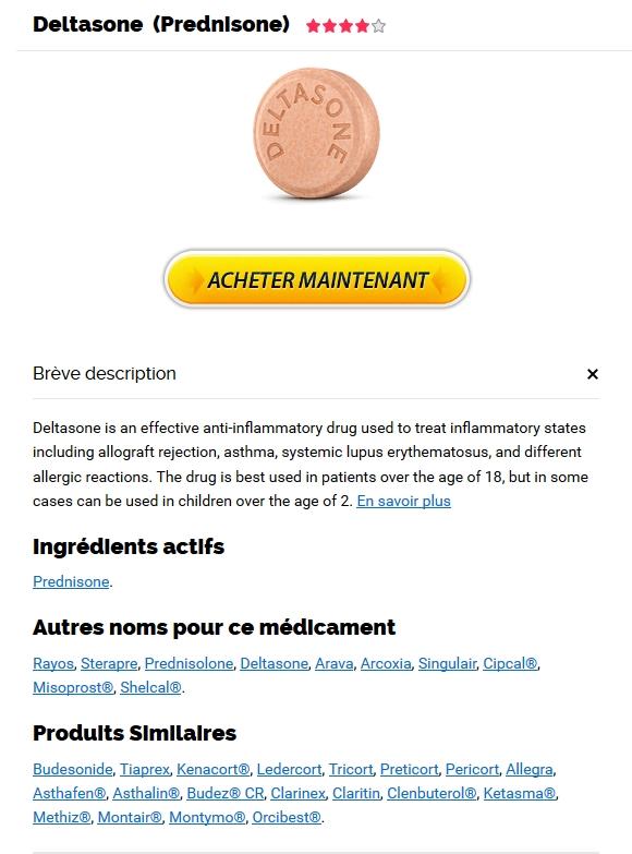 Prix Deltasone en France - Livraison Avec Ems, Fedex, UPS et autres
