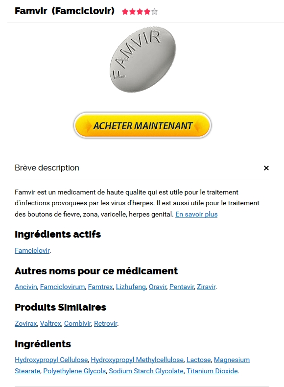 Famvir Pharmacie En Ligne Canada Sans Prescription