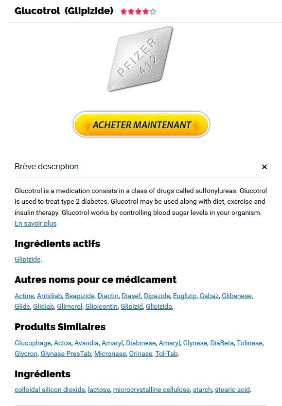 Glucotrol Generique En Pharmacie Prix. Livraison trackable