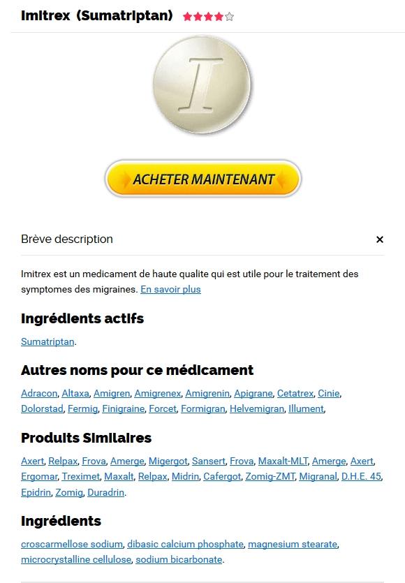 prix discount Sumatriptan - Ou Acheter Imigran