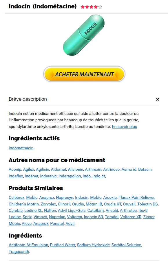 Generique Indocin En France | Pharmacie Épinal