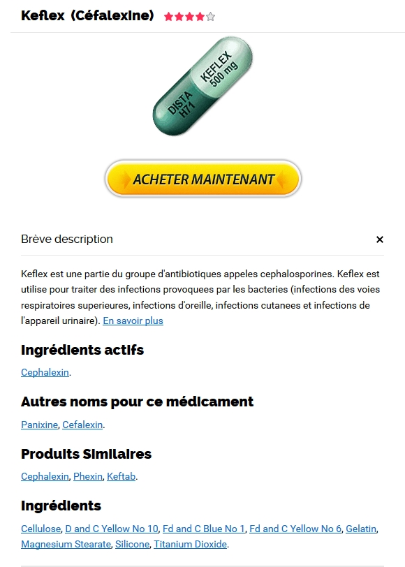 Keflex Pharmacie En Ligne Canada Sans Prescription