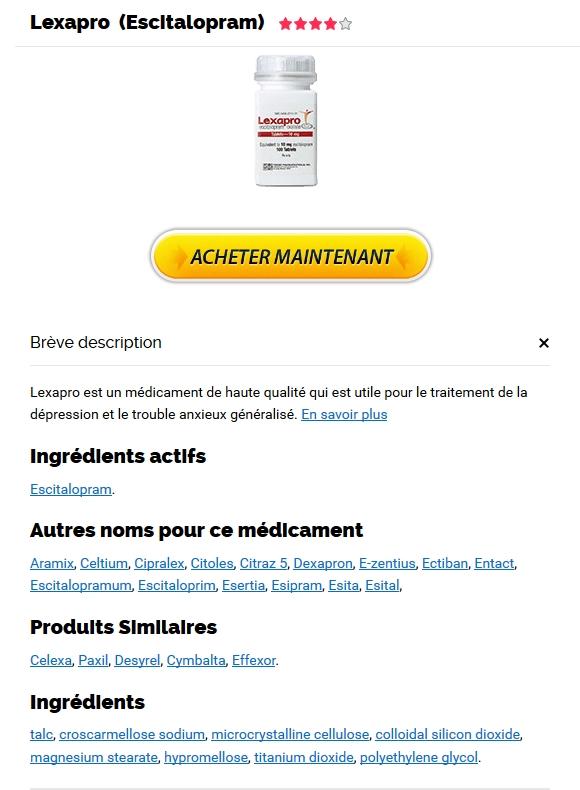 Pharmacie En Ligne La Moins Chere * Lexapro Moins Cher En Pharmacie