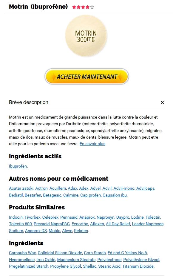 Toutes les cartes de crédit acceptées | Motrin Prix Quebec | Expédition trackable