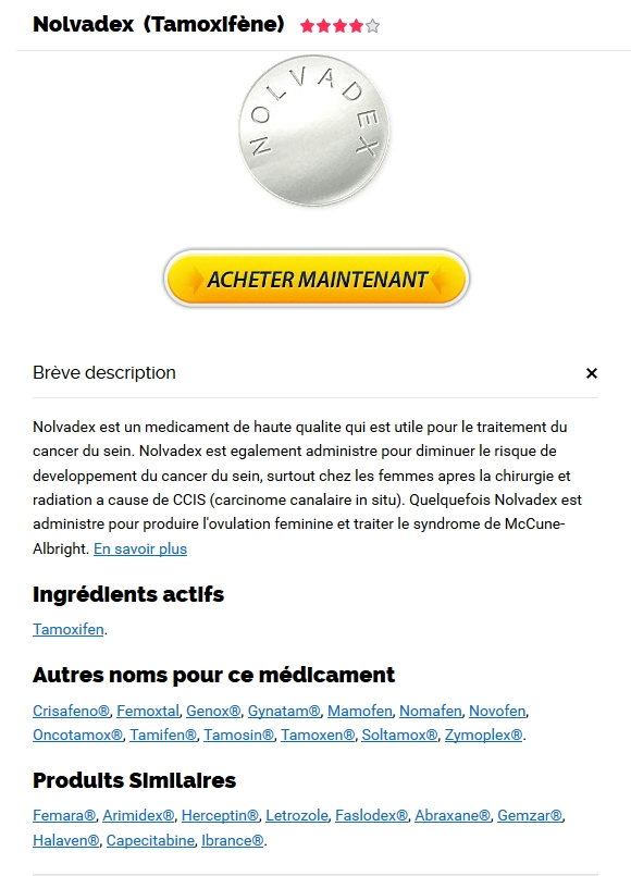 Medicament Nolvadex Pas Cher Internet