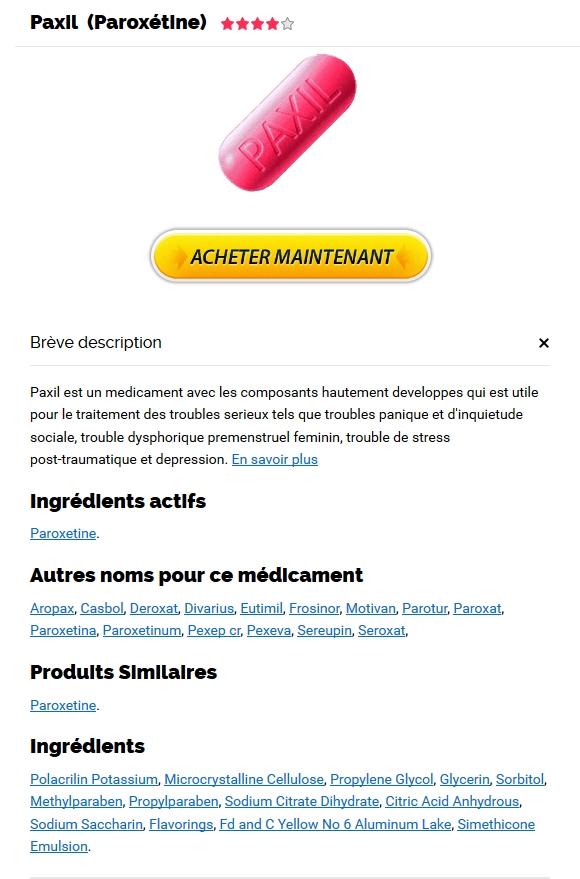 Acheter Pilule Paxil Pour Bander