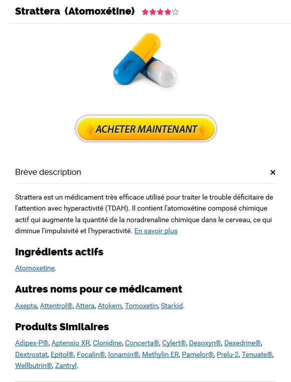 Achat De Medicament Strattera En Ligne Au Canada - meilleurs Strattera à vendre