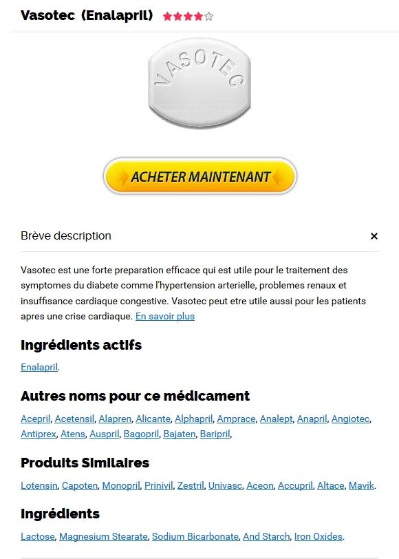 Enalapril Europe - acheter des Vasotec sans ordonnance