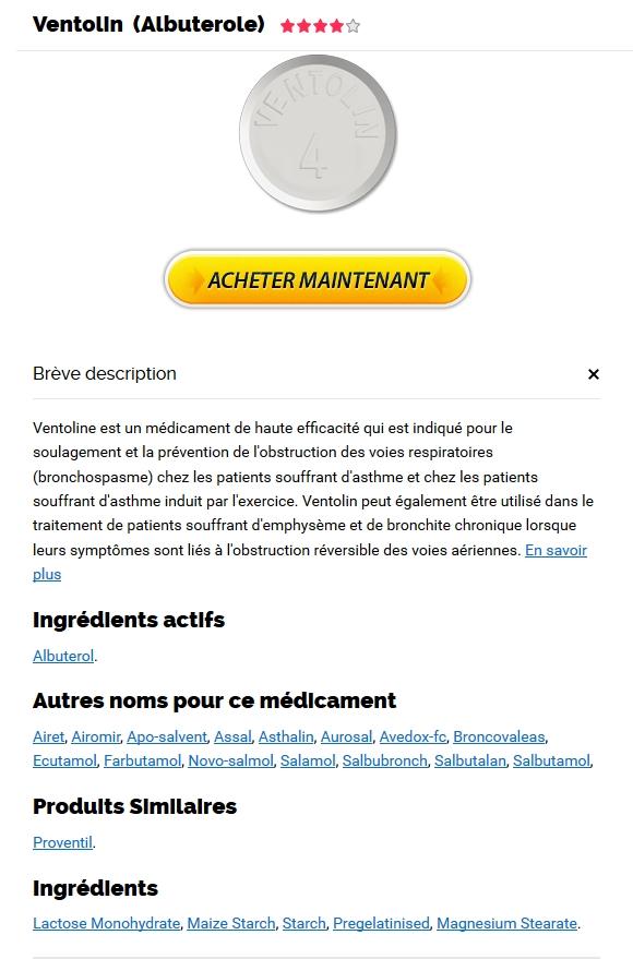 Generique Ventolin Canada - Vente De Médicaments Sur Internet