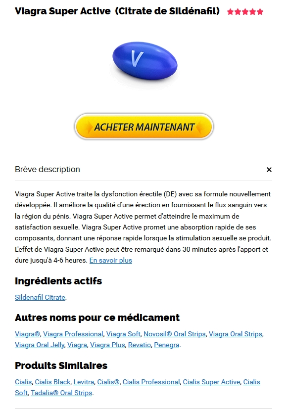 Achat De Viagra Super Active 100 mg En France