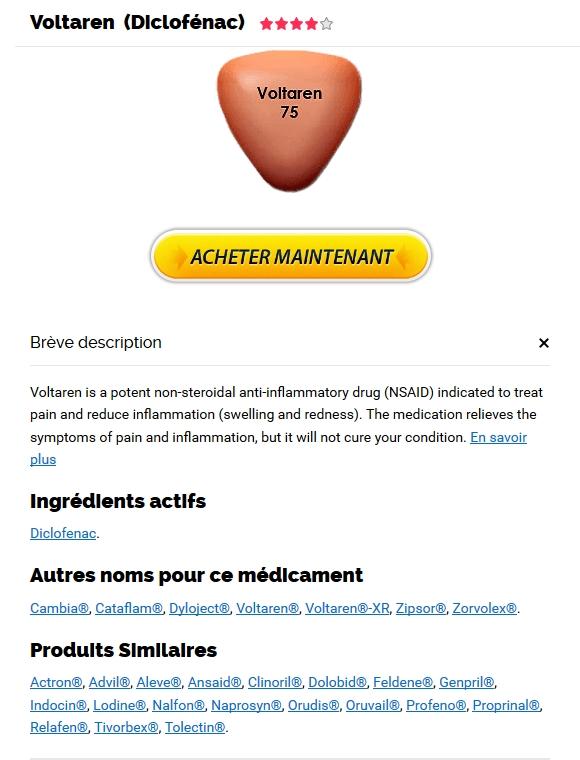 Envoie Rapide. Les Bienfaits Du Voltaren. 24/7 Service Clients