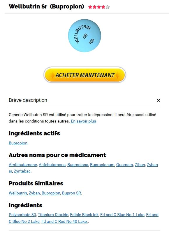 Bupropion Vente En Ligne - Pharmacie Saint-paul - Livraison dans le monde rapide