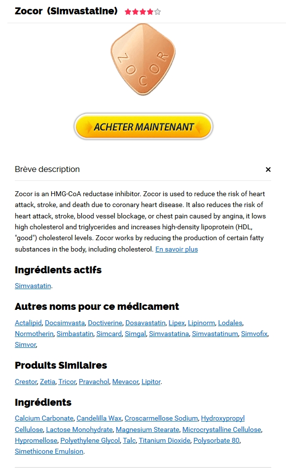 Acheter Zocor En Toute Securite. Simvastatin best for sale
