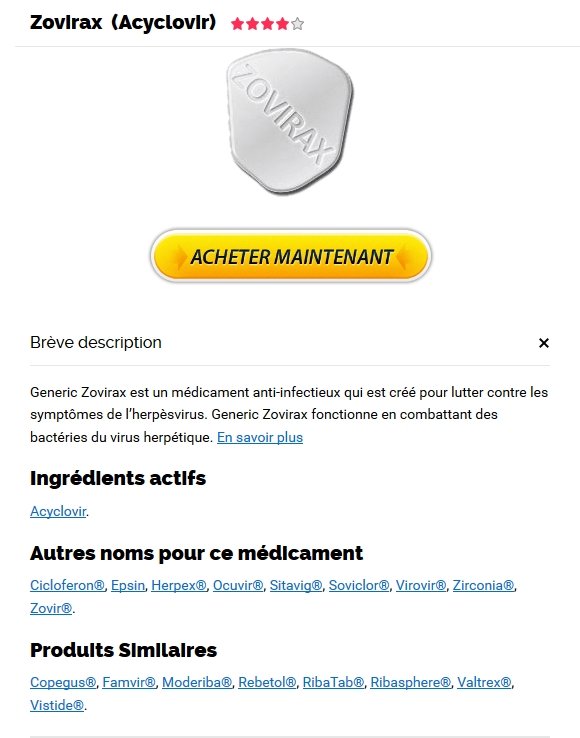 Zovirax Mode Emploi - Shop Pharmacie Medicaments