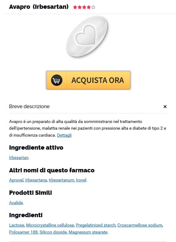 Comprare Pillole Di Avapro A Buon Mercato | Farmacia Shop On Line