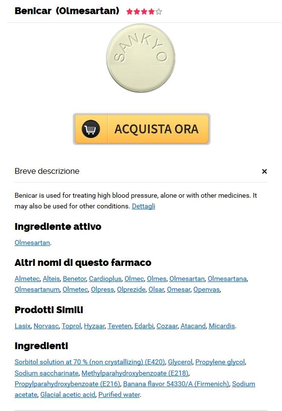 Acquisto Di Pillole Generiche Benicar