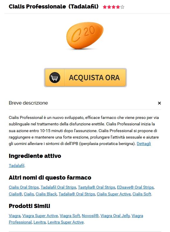 Dove Acquistare Professional Cialis 20 mg Online A Buon Mercato | Farmaci On Line Senza Ricetta | shegeftangizan.com
