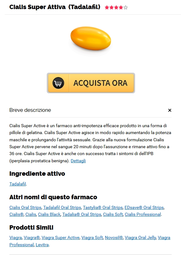 buy di marca Cialis Super Active - Come Posso Comprare Cialis Super Active