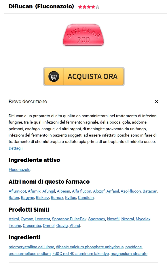Diflucan A Buon Mercato Lazio - spedizione Trackable