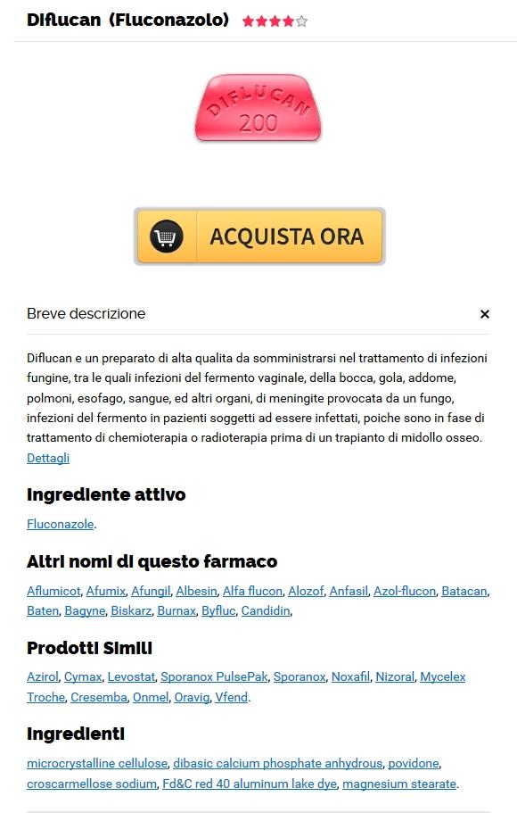 Diflucan Online A Buon Mercato * Worldwide Shipping (1-3 giorni)