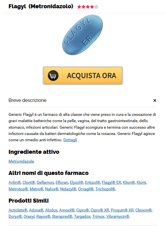 Metronidazole reale online - Compra Flagyl Roma