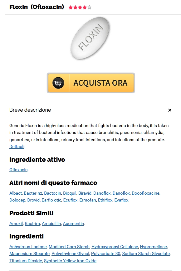 Dove Ordinare Ofloxacin Online | Worldwide Shipping (1-3 giorni)