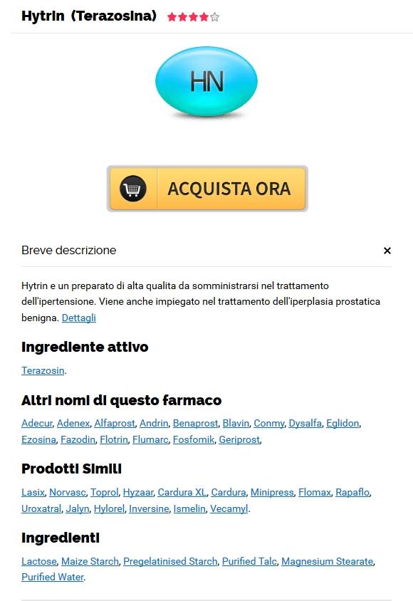 Hytrin A Buon Mercato Senza Prescrizione Medica - Spedizioni mondiali gratuite - Senza ricetta