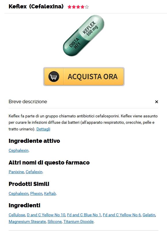 Keflex Generico Miglior Prezzo | Farmacia Mazzini Online