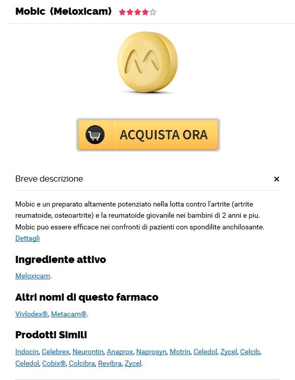 Meloxicam Più Economico Senza Prescrizione Medica | compresse di Mobic a buon mercato