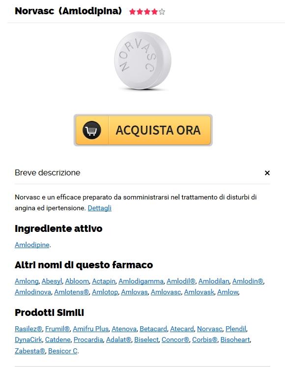 Comprare Amlodipine Generici A Basso Costo Online