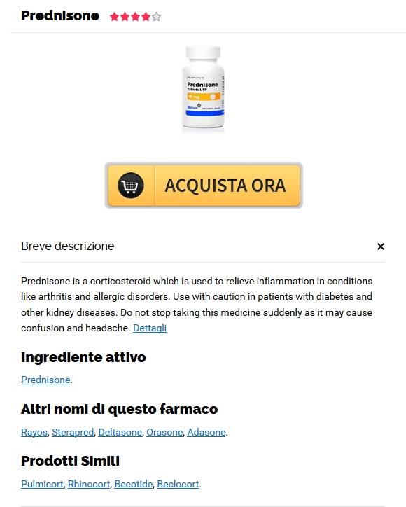 Comprare Prednisolone Generico A Buon Mercato. Prontuario Farmaceutico Online