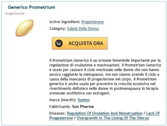 Prometrium Senza Prescrizione * compresse di Progesterone a buon mercato