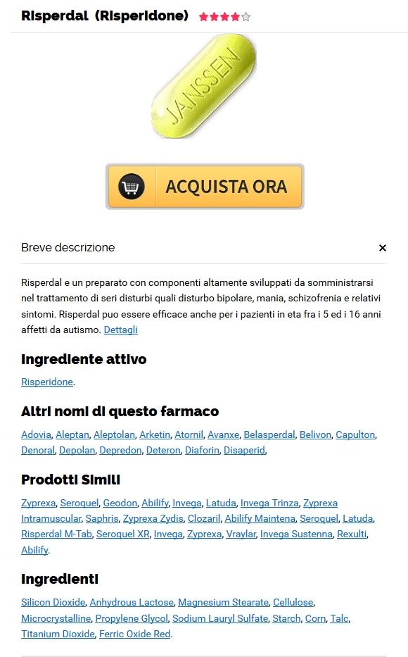 Farmacia Vercelli - Risperidone Generico Senza Prescrizione Medica - Miglior prezzo