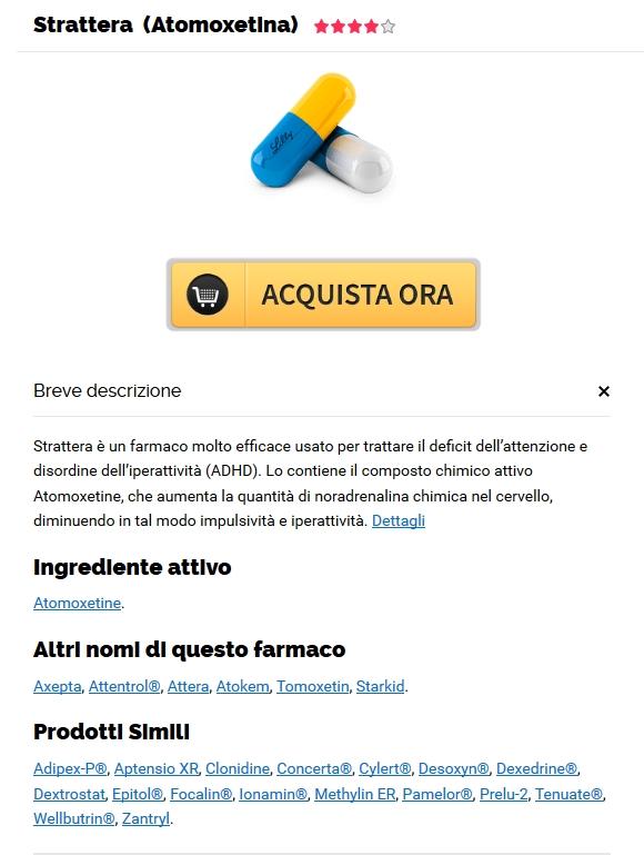 Compra Strattera 18 mg Toscana