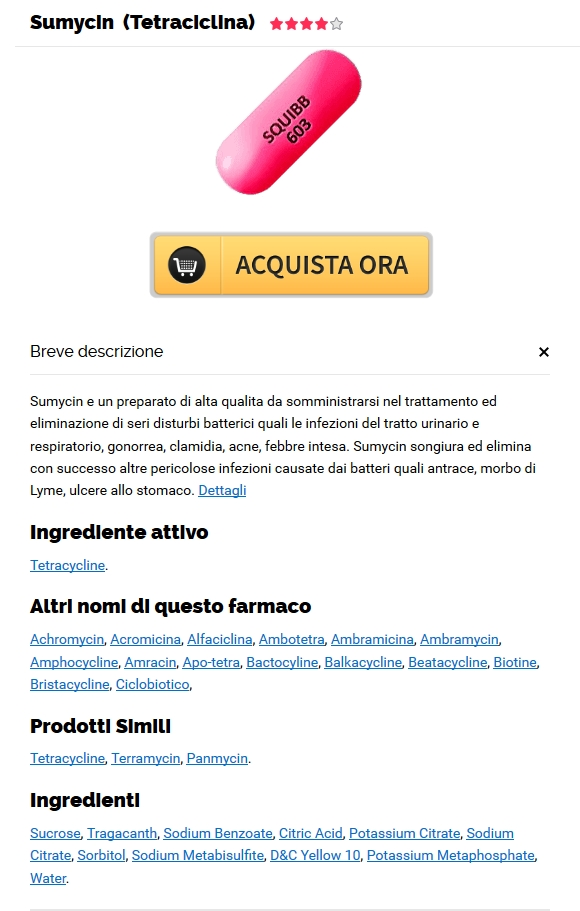 Dove Ordinare Le Pillole Di Sumycin A Buon Mercato. pillole di Tetracycline generico