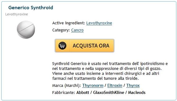 Levothyroxine Generico A Buon Mercato | Farmacia Avellino