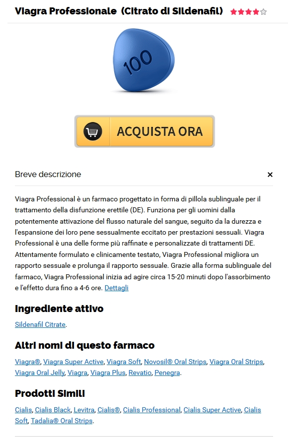 Ordinare Le Pillole Di Professional Viagra. Visa, MC, Amex è disponibile