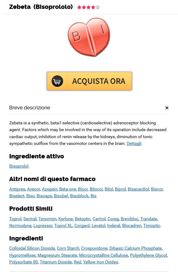 Comprare Il Zebeta Di Marca Online | Farmacia Loreto Online