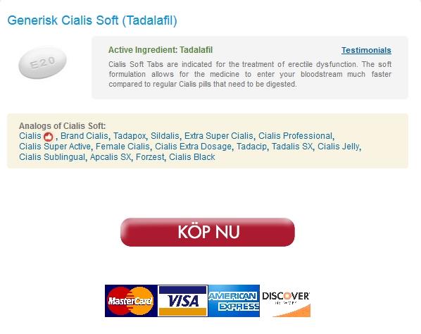 Cialis Soft Generisk I Sverige * Cialis Soft Tabletter Priser