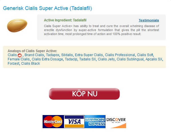 Cialis Super Active 20 mg i Sverige