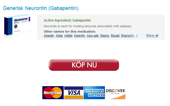 Comprare Neurontin Online. Köp Neurontin Bästa Pris